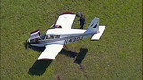Small plane crash lands in cow pasture - (1/10)