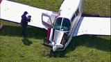 Small plane crash lands in cow pasture - (2/10)