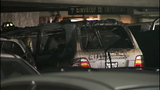 Cars charred, destroyed in garage fire - (10/11)