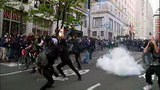 PHOTOS: 2013 May Day march escalates into violence - (18/25)
