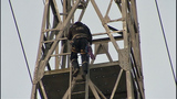 High-angle rescue team recovers body from tower - (3/11)