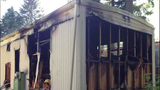 Cigarette starts mobile home fire in Bremerton - (1/5)
