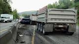 2 killed in crash into gravel truck near Sumner - (6/16)