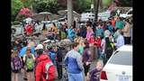 Scenes from National Bike to School Day in Seattle - (5/8)