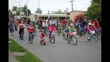 Scenes from National Bike to School Day in Seattle - (7/8)