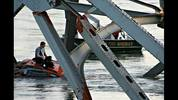 A KIRO 7 Eyewitness News viewer captured images of the collapsed Interstate 5 bridge into the Skagit River.