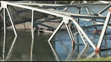 Daylight shows full extent of bridge damage - (3/15)