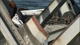 Daylight shows full extent of bridge damage - (5/15)