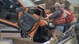 Vehicles, bridge debris pulled from Skagit River - (8/25)