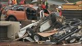 Vehicles, bridge debris pulled from Skagit River - (10/25)