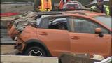 Vehicles, bridge debris pulled from Skagit River - (25/25)