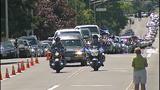 Scenes from fallen trooper's motorcade - photos - (1/13)