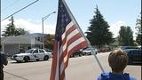 Scenes from fallen trooper's motorcade - photos - (10/13)