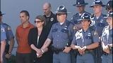 Scenes from fallen trooper's motorcade - photos - (9/13)