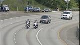 Scenes from fallen trooper's motorcade - photos - (11/13)