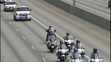 Scenes from fallen trooper's motorcade - photos - (6/13)