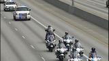 Scenes from fallen trooper's motorcade - photos - (6/13)