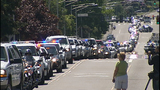 Scenes from fallen trooper's motorcade - photos - (13/13)