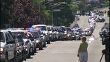 Scenes from fallen trooper's motorcade - photos - (13/13)
