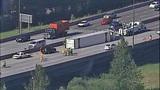 Semi overturns, blocks I-405 lanes in Renton - (6/16)
