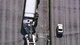 Semi overturns, blocks I-405 lanes in Renton - (2/16)