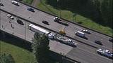 Semi overturns, blocks I-405 lanes in Renton - (12/16)