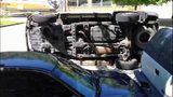 Speeding SUV crashes into parked cars - photos - (1/8)