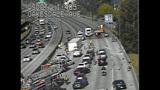 Semi overturns, blocks I-405 lanes in Renton - (14/16)