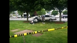 Police motorcycle, car tangle in crash - photos - (2/5)