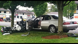 Police motorcycle, car tangle in crash - photos - (5/5)