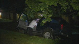 Man trapped after joy ride in stolen SUV - photos - (6/9)