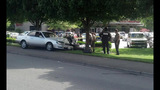 Police motorcycle, car tangle in crash - photos - (3/5)