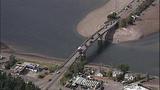 Gray whale under Purdy Bridge - photos - (13/18)