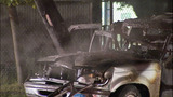 SUV crashes, bursts into flames - photos - (7/11)