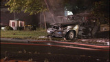 SUV crashes, bursts into flames - photos - (9/11)