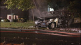 SUV crashes, bursts into flames - photos - (6/11)
