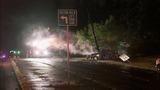 SUV crashes, bursts into flames - photos - (11/11)