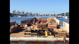 Workers prepare for Seafair Summer Fourth - (9/9)