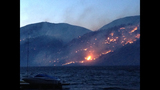 PHOTOS: Grasslands burning near Lake Chelan - (2/8)
