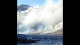 PHOTOS: Grasslands burning near Lake Chelan - (1/8)