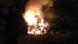 Fireworks cause house and brush fires - (1/5)