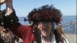 Seafair Pirates land at Alki Beach - (2/10)