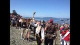 Seafair Pirates land at Alki Beach - (7/10)