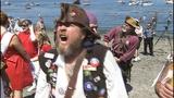 Seafair Pirates land at Alki Beach - (9/10)