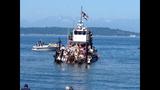 Seafair Pirates land at Alki Beach - (10/10)