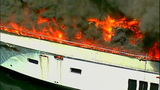 Luxury yacht engulfed in flames at Roche… - (12/20)