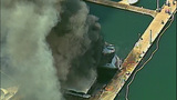 Luxury yacht engulfed in flames at Roche… - (3/20)