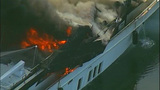 Luxury yacht engulfed in flames at Roche… - (1/20)