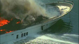 Luxury yacht engulfed in flames at Roche… - (4/20)