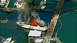 Luxury yacht engulfed in flames at Roche… - (15/20)